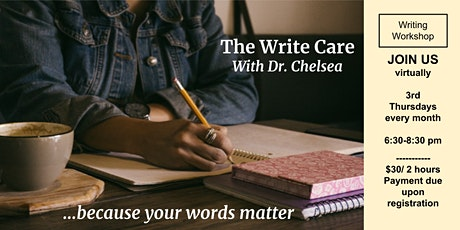 The Write Care - A writing workshop group. tickets