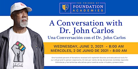 A Conversation with Dr. John Carlos tickets