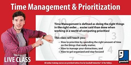 Time Management & Prioritization tickets