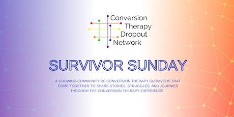 CTDN - Conversion Therapy Survivor Sunday entradas