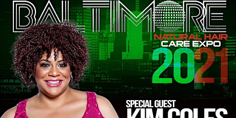 Kim Coles at the Baltimore Natural Hair Care Expo 2021 tickets