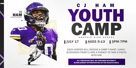 2021 C.J. Ham Youth Football Camp - PM tickets