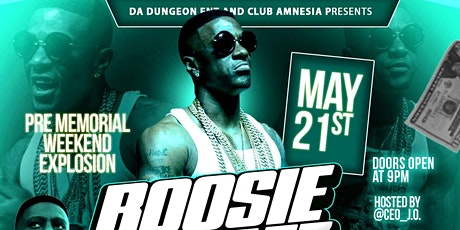 Boosie Bad Azz Performing Live Club Amnesia tickets