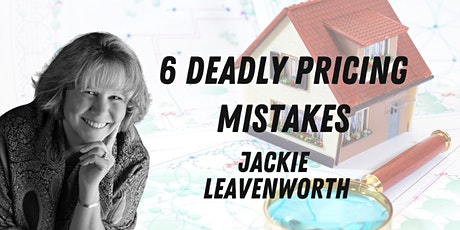 6 Deadly Pricing Mistakes - 3 Sessions billets
