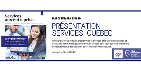 Présentation - Services Québec billets