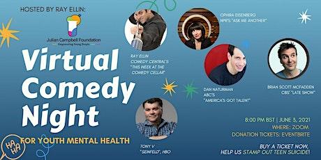 JCF (Julian Campbell Foundation) Virtual Comedy Night tickets