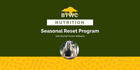Seasonal Reset Program tickets