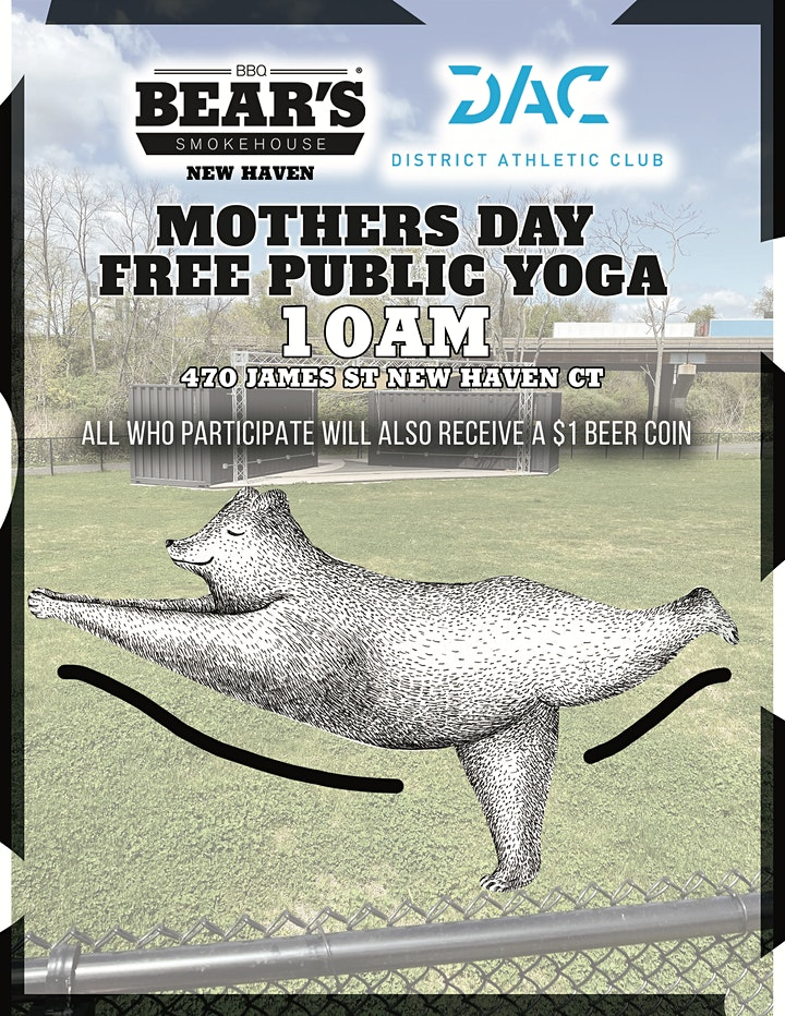 Free Public Mothers Day Yoga image
