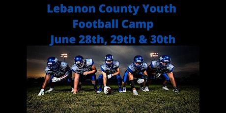 Lebanon County Youth Football Camp tickets
