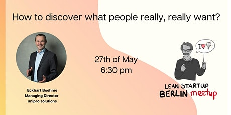 How to discover what people really, really want? tickets