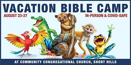 Vacation Bible Camp 2021 (In-Person) tickets