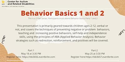 Behavior Basics 1 | #3656