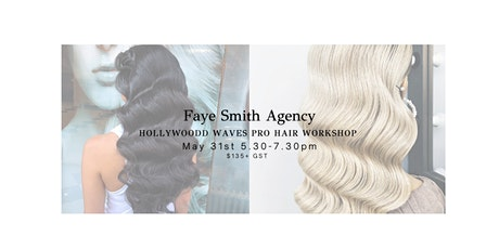 Hollywood Waves Pro Hairstyling Workshop tickets