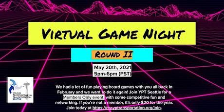 YPT Seattle Virtual Game Night: Round 2 tickets