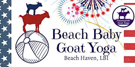 Beach Baby Goat Yoga LBI July 4th Weekend: Namaaaste Goat Yoga tickets