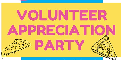 Volunteer Appreciation Pizza Party tickets