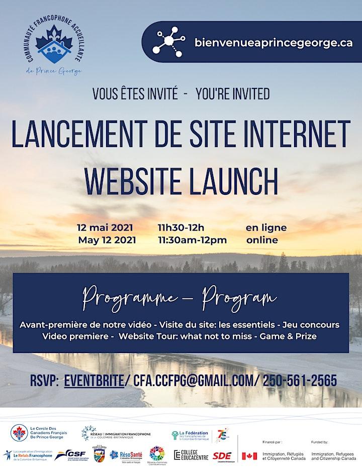 Image de Lancement Site Internet CFA Website Launch!
