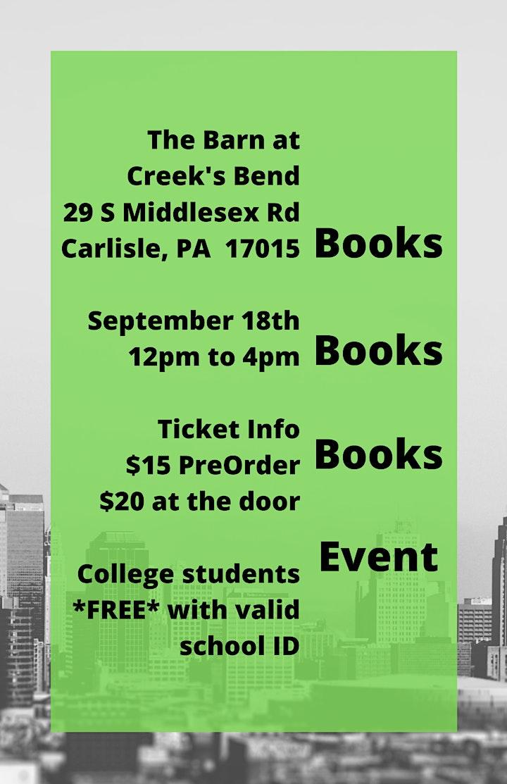 Books Books Books Event image