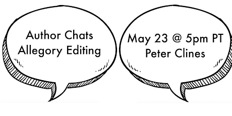 Allegory Editing Author Chats: May 23—Peter Clines tickets