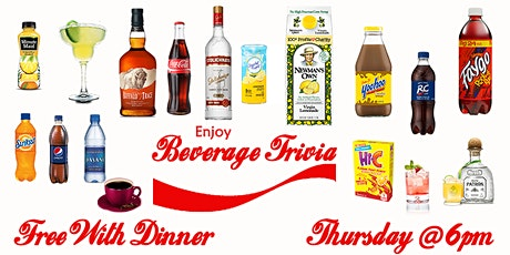 Thursday Trivia With Dinner - Beverage Edition! tickets