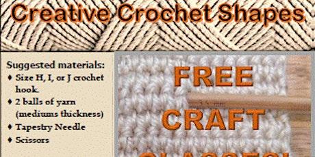 Creative Crochet Shapes tickets