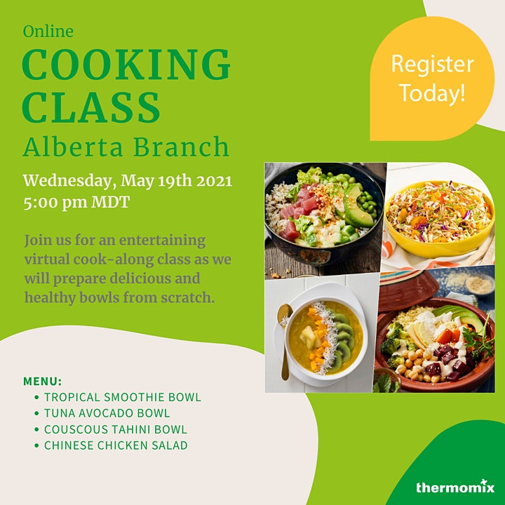 Thermomix® Virtual Cook-Along Class: Healthy Bowls image