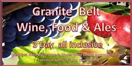 Granite Belt Wednesday to Friday Wine & Dine Tour tickets