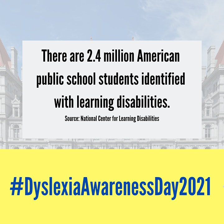 Dyslexia Awareness Day:  May 6, 2021 image