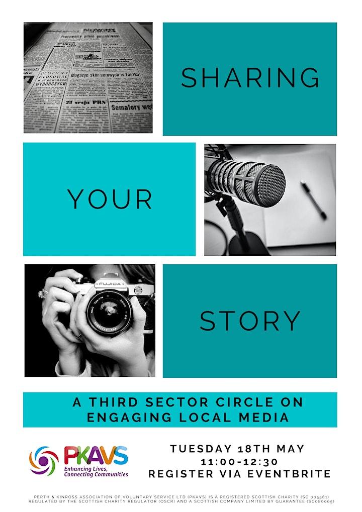 Sharing Your Story - Media Third Sector Circle image