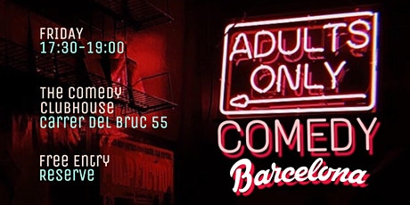 Adults ONLY Comedy Barcelona entradas