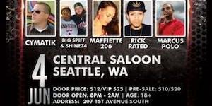 7th annual G$SH Tour – Central Saloon (Seattle, WA)