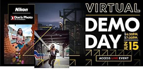 Virtual Nikon Demo Day tickets