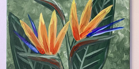 PUB282- Bird of Paradise Flower Painting tickets