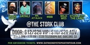 7th annual G$SH Tour – Stork Club (Oakland, CA)