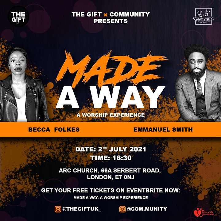 MADE A WAY: A WORSHIP EXPERIENCE image