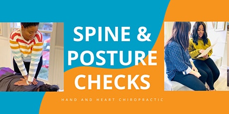 Spine & Posture Check + FREE Massage tickets