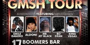 7th annual G$SH Tour – Hype Wednesday @Boomer's Bar...