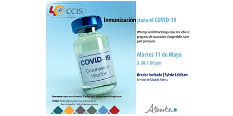 COVID -19: Vaccination Information by Alberta Health Services In Spanish tickets