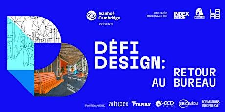 Défi-Design | Retour au bureau billets