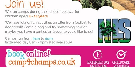 Camp 4 Champs Sports Multi-Skills Activity Camp tickets