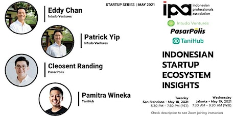 Startup Series with Intudo Ventures, PasarPolis, and TaniHub tickets