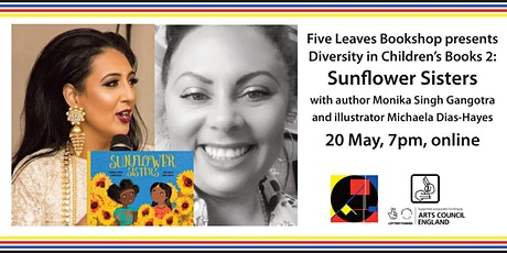 Diversity in Children's Literature 2: Sunflower Sisters author/illustrator tickets