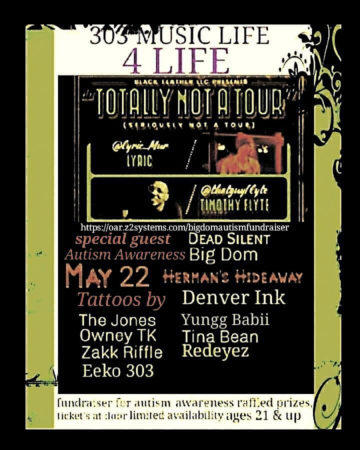 303 Music Life 4 Life Autism Awareness Fundraiser ft Lyric | Timothy Flyte image