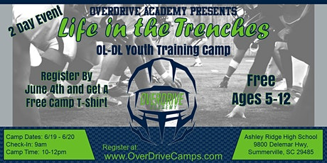 Life in the Trenches OL-DL Youth Training Camp tickets