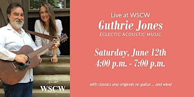 Guthrie Jones  on the Patio June 12