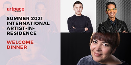 Summer 2021 International Artist-In-Residence Virtual Welcome Dinner tickets