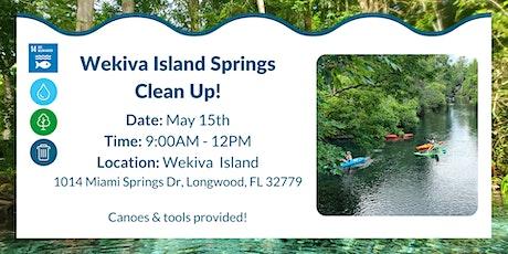 Wekiva Island Springs Clean Up! tickets
