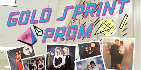 Gold Sprint Prom tickets