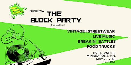 the Block Party - Pop-Up Event tickets