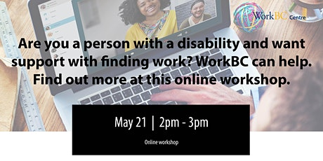 Employment Support for People with Disabilities:  A Free Online Workshop tickets